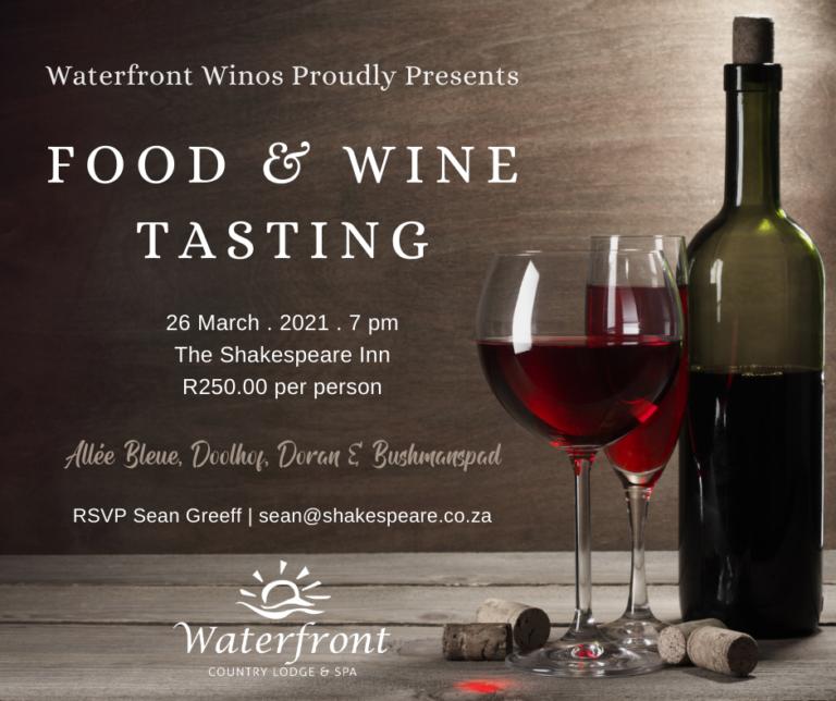 Food & Wine Tasting